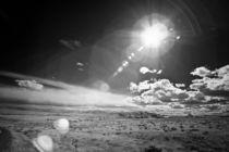 Barren Desert Landscape by Michael Kloth