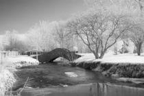 Stone Bridge over a Creek von Michael Kloth