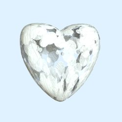 White-heart-blue
