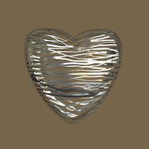 Chrome Heart - Beige Brown von Philip Roberts