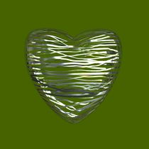 Chrome Heart - Lime Green von Philip Roberts