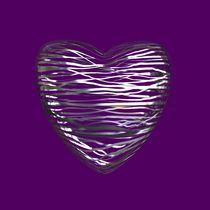 Chrome Heart - Plum Purple von Philip Roberts