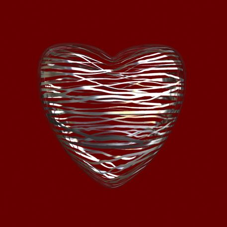 Chrome-heart-red