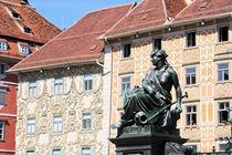 Facades of Graz von Miroslava Andric