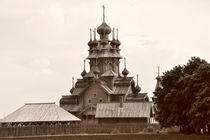 The wooden Russian church von Alexandr Verba