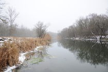 autumn or winter river von Alexandr Verba