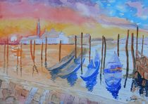 The Colors of Venice von Warren Thompson