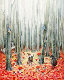 Mushroom's time by Miks Valdbergs