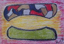 Erste Versuche mit Öl-Pastell-Kreide (2010) by European Society against Depression