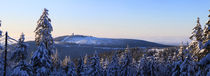 Winterpanorama am Brocken 09 by Karina Baumgart