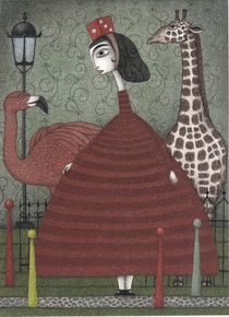 Sunday Excursion to the Zoo by Judith  Clay