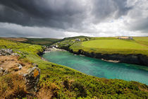 Bay in Cornwall von Wicek Listwan