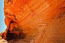 Red rock texture von Wicek Listwan