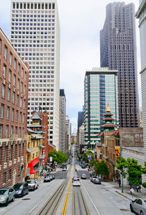 Streets of San Francisco von Wicek Listwan