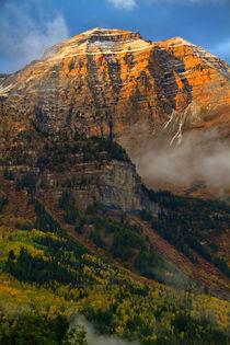 Mount Timpanogos by Douglas Pulsipher