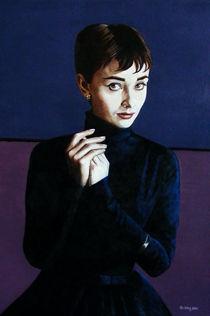 Audrey Hepburn by Jo King