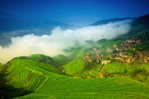 Clouds over Longsheng by Alexey Galyzin