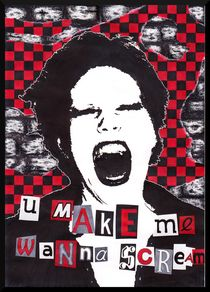 U make me wanna scream by Christine Moje