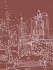 New York! Clay by David Bushell