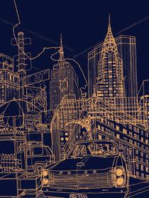 New York! Night by David Bushell