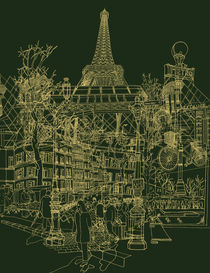 Paris! Olive von David Bushell