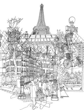 Paris-bw