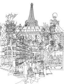 Paris! BW von David Bushell