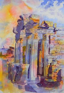 Ephesus Ruins by Warren Thompson