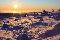 Winterlandschaft am Brocken im Harz 12 by Karina Baumgart