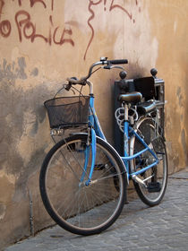 Blue Bike by artskratches
