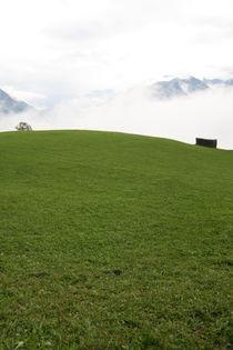 Alpen Wandbild von Jens Berger
