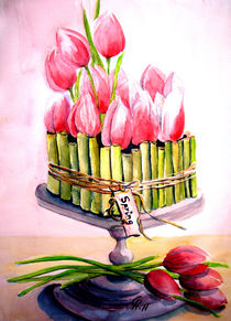 Tulpenschale von Christine  Hamm