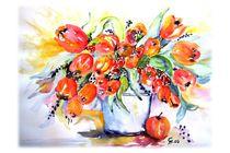 Tulpenstrauß by Christine  Hamm