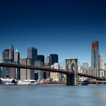 NYC: Brooklyn Bridge von Nina Papiorek