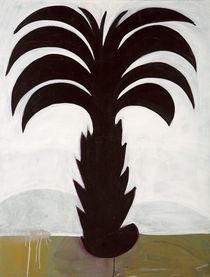 Schwarze Palme, 2008 von Simon Vahala