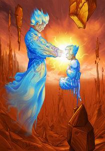 Master and Disciple von Tony Draws