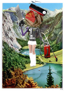 Holiday am KönigsSee  3 Collage by Marko Köppe