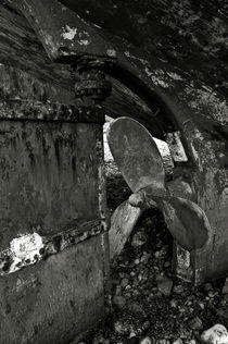 Propeller of an old abandoned ship by RicardMN Photography