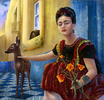 Frida Kahlo von Ashley Luttrell