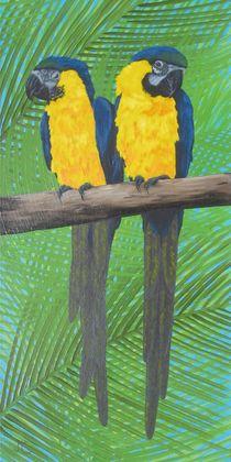 BIRDS - Parrots by Jarmila Matyasova