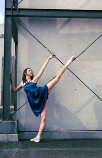 Ballerina and the city von Malgorzata Topolska
