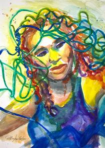 Jazz Singer by Patricia Allingham Carlson