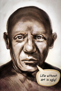 Ugly Picasso by Alfredo  Saavedra
