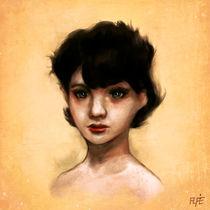 7 years old Valentina by Alfredo  Saavedra
