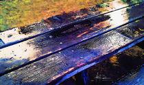Rainy Bench von nooriworldd