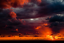 burning sky by Victor Bezrukov