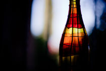 lightof evening in bottle von Victor Bezrukov