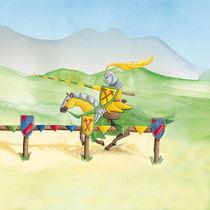 Turnier-Ritter Gelb von Gosia Kollek