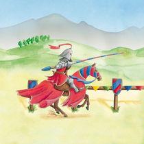 Turnier-Ritter Rot von Gosia Kollek
