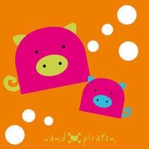 Pink Piglet - süße Schweinchen von Gosia Kollek